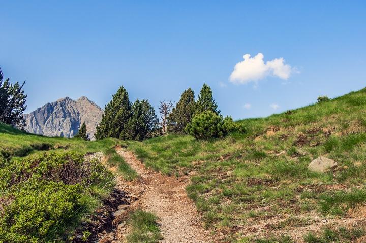 Col d'Estoudou szlak GR10