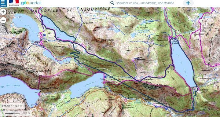 Neouvielle szlaki Pireneje