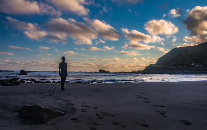 Anaga Almaciga plaża Teneryfa