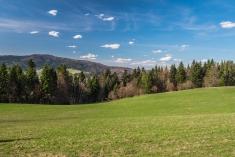 szlak Krościenko Czorsztyn Pieniny wiosna