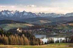 Tatry z Czorsztyna