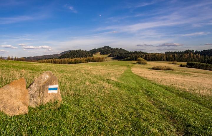 szlak niebieski Czorsztyn