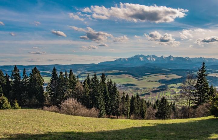 niebieski szlak Krościenko Czorsztyn