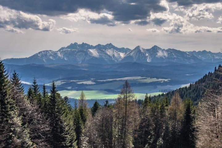 Przełęcz Szopka Pieniny