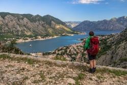 drabina kotorska Kotor szlaki góry