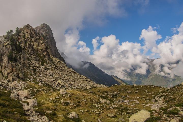 Refuge de la Glere Pireneje