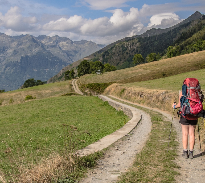 GR10 szlak Pireneje