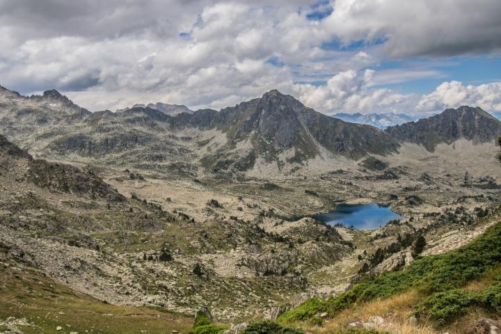 Lac Nere Neouvielle Pireneje szlak