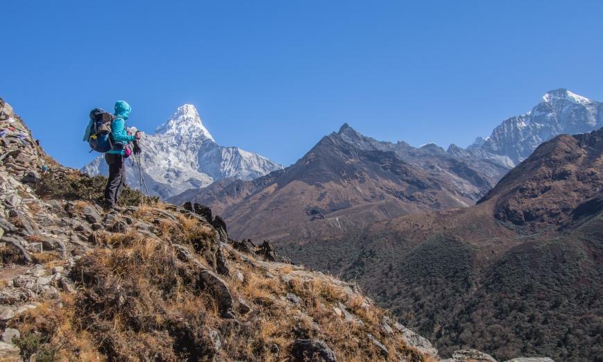 Ama Dablam trekking Himalaje