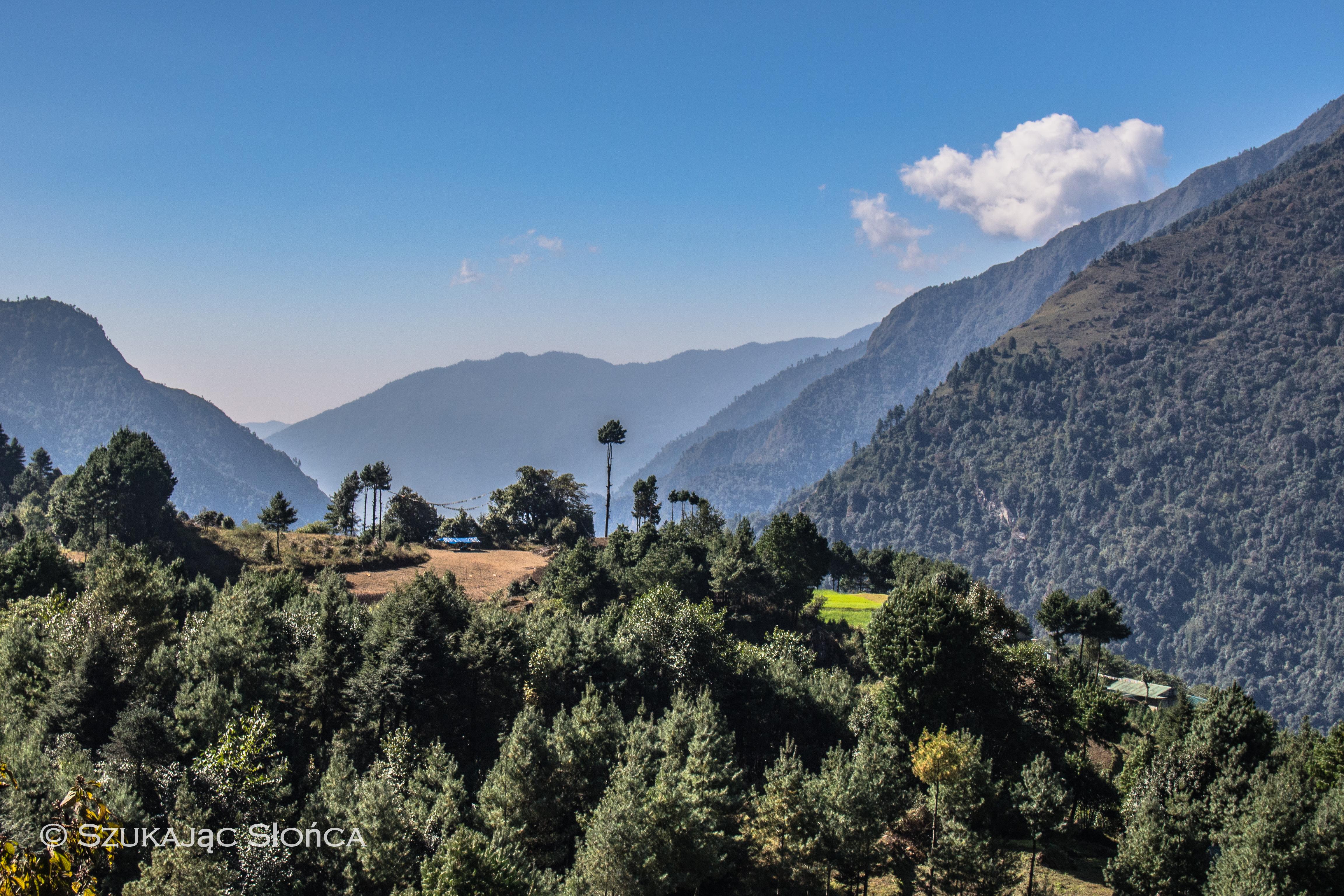 Lukla szlak Himalaje Nepal