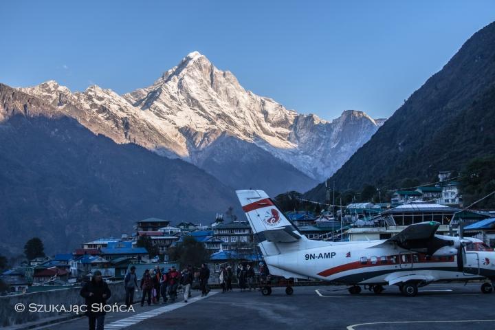 lotnisko Lukla Nepal