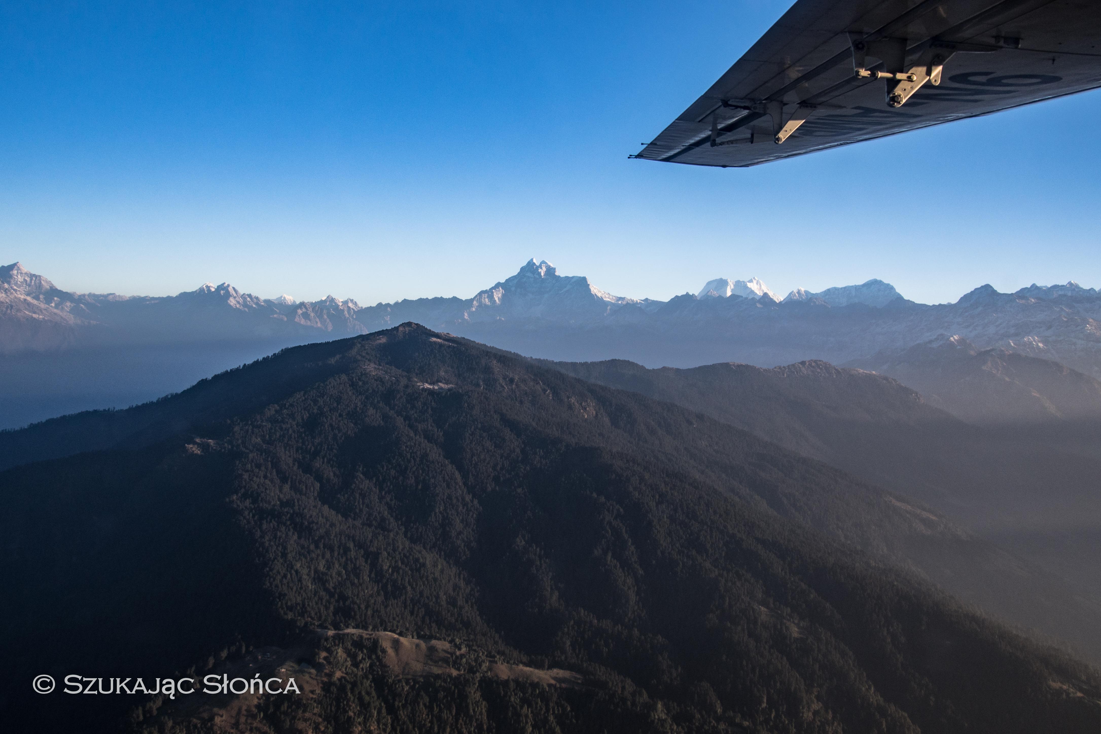 nowy dzień w Himalajach = nowa przygoda