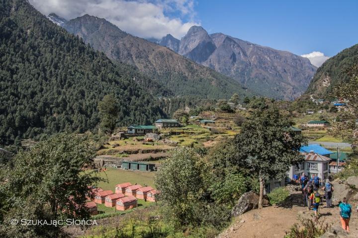 Lukla Phanding EBC trekking szlak