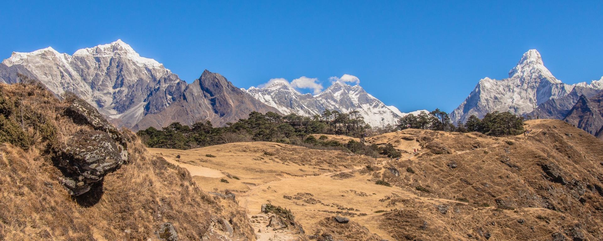 Everest,Lhotse, Ama Dablam