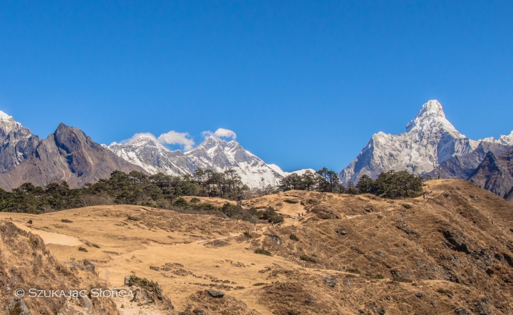 Everest View Hotel szlak, Ama Dablam