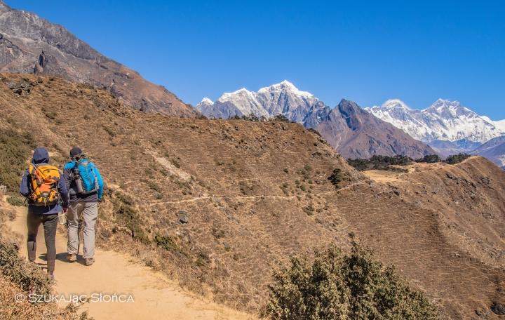 Everest View Hotel szlak, Namche Bazar aklimatyzacja
