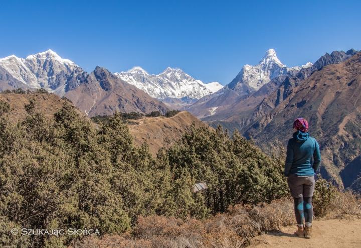 Ama Dablam, Everest View Hotel, Namche aklimatyzacja