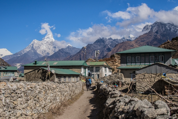 wioska Khumjung Himalaje
