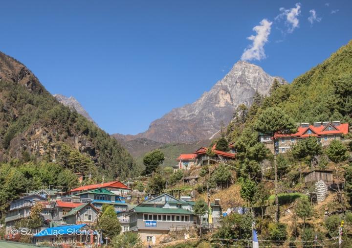 wioska Monjo, Himalaje, trekking