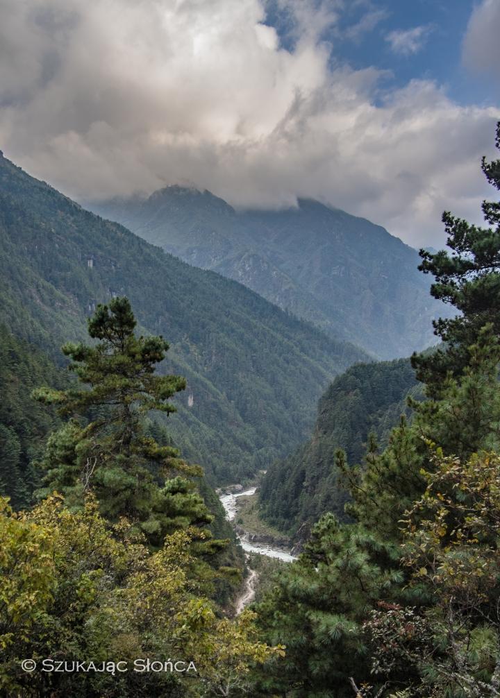 Himalaje, szlak. EBC, Namche podejście