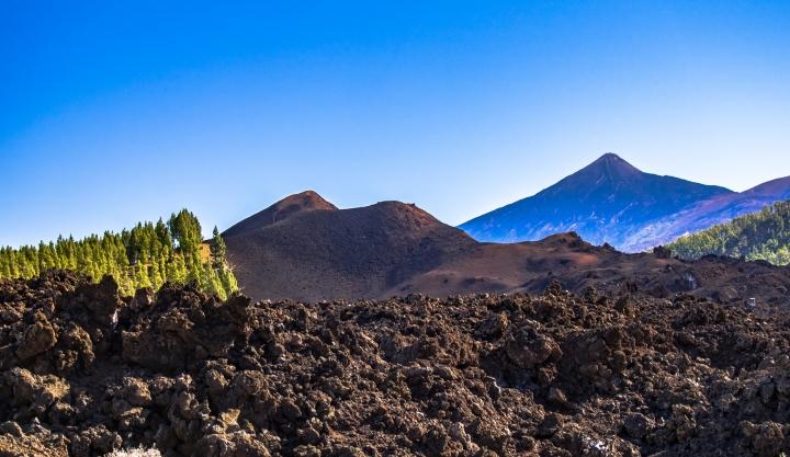 Teneryfa, trekking, Teide, Chineyro