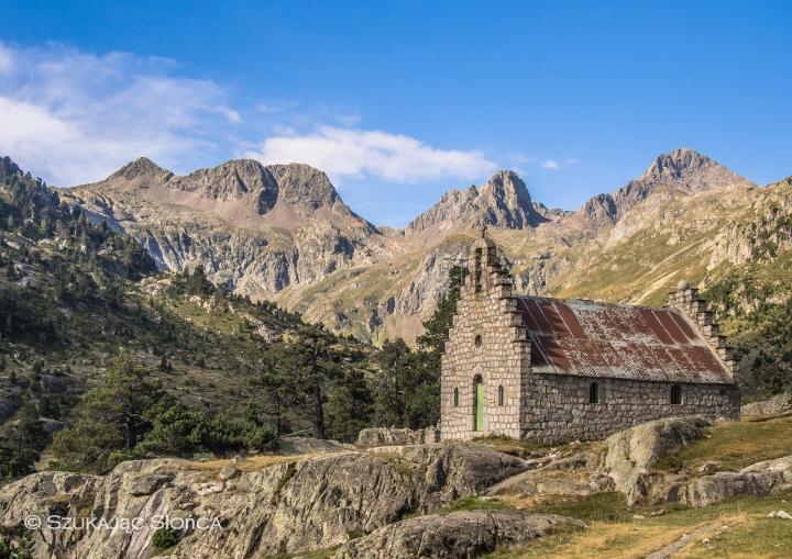 Wallon, Marcadau, szlaki, kaplica, Pireneje