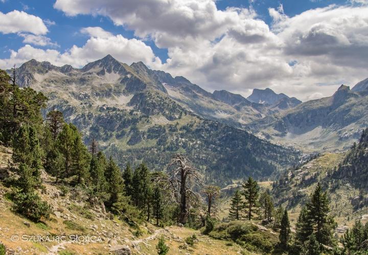 Wallon Marcadau schronisko szlaki, Lac Nere Pireneje