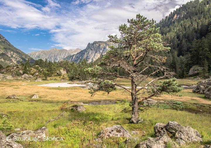Pireneje Refuge Wallon szlak trekking