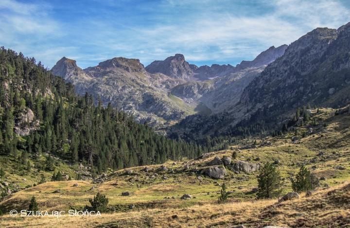 Marcadau Pireneje Wallon szlak