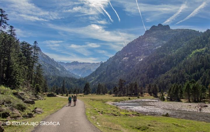 Pireneje, szlaki, Refuge Wallon, dolina Marcadau