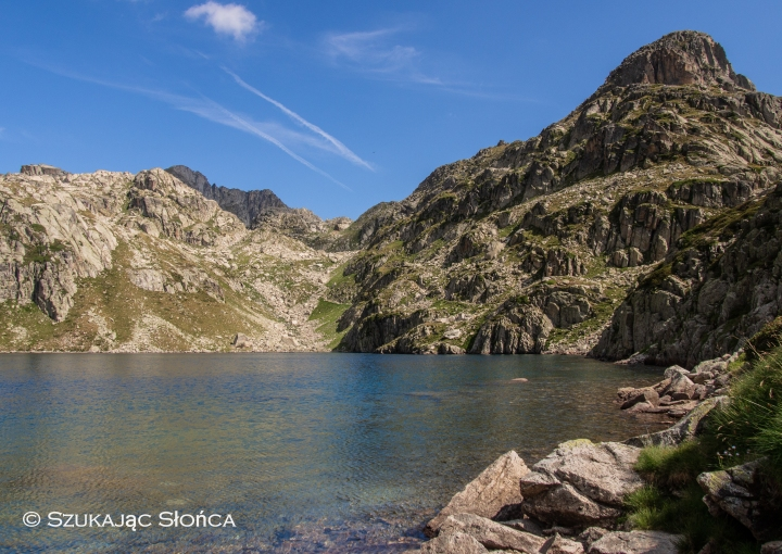 Lac Nère, Pireneje, dolina Marcadau, szlak