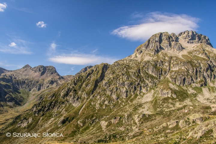Lac Nere, Marcadau, szlak, Pireneje, schronisko Wallon