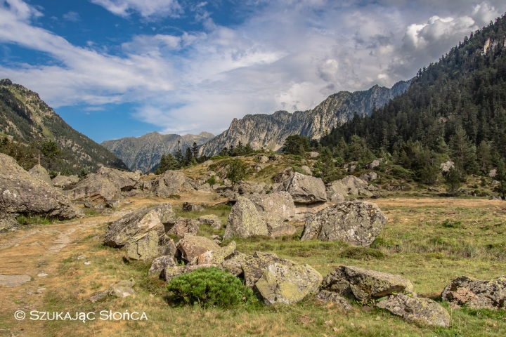 Marcadau Wallon szlaki Pireneje