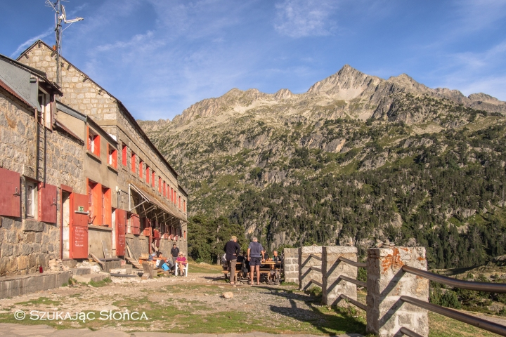 Refuge Wallon Pireneje Marcadau
