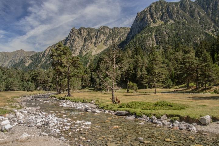 Pireneje szlaki Marcadau Wallon