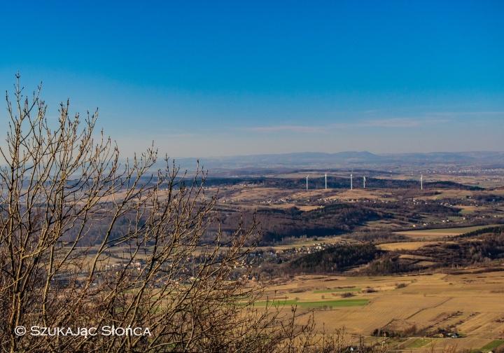 wieża widokowa na górze Cergowej