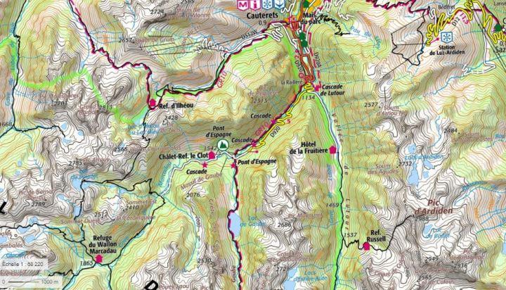 Marcadau Gaube szlaki Pireneje