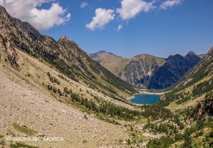 Lac de Gaube GR10 szlak trekking w Pirenejach