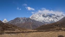 Ama Dablam BC szlak trekking Himalaje