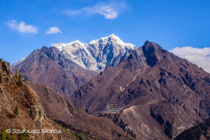 Phortse Himalaje trekking szlak EBC