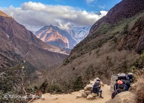Phortse Gokyo trekking szlak Himalaje
