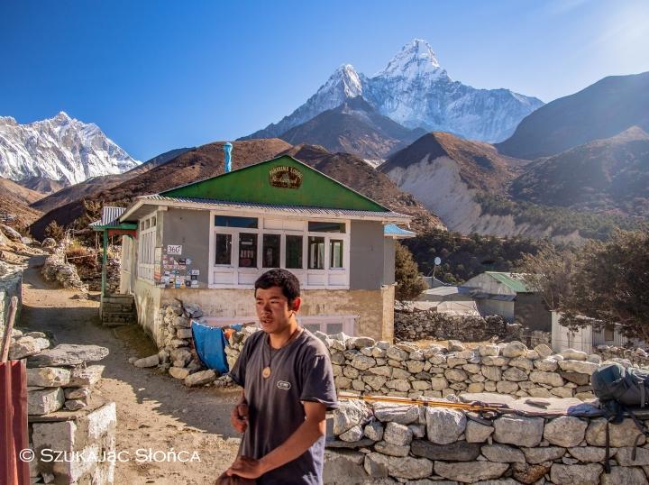 Pangboche Himalaje trekking szlaki