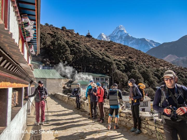 Pangboche Dole szlak Gokyo trekking
