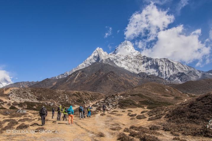 Ama Dablam BC szlak trekking wycieczka aklimatyzacyjna