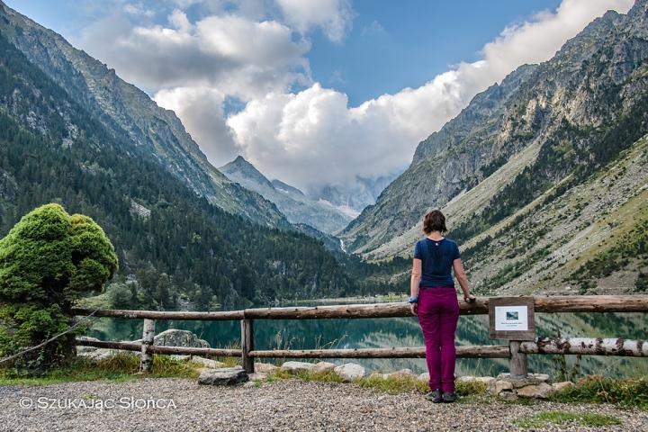 Lac de Gaube GR10 szlak trekking Pireneje