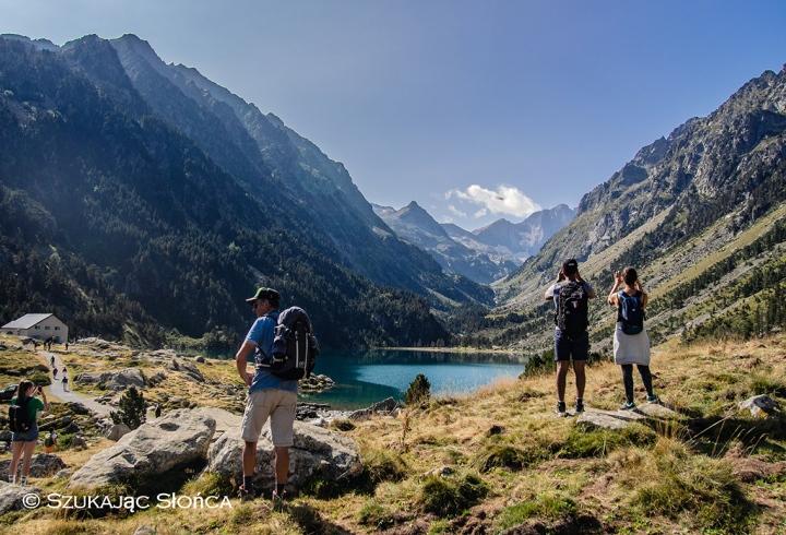 Lac de Gaube Pireneje szlak