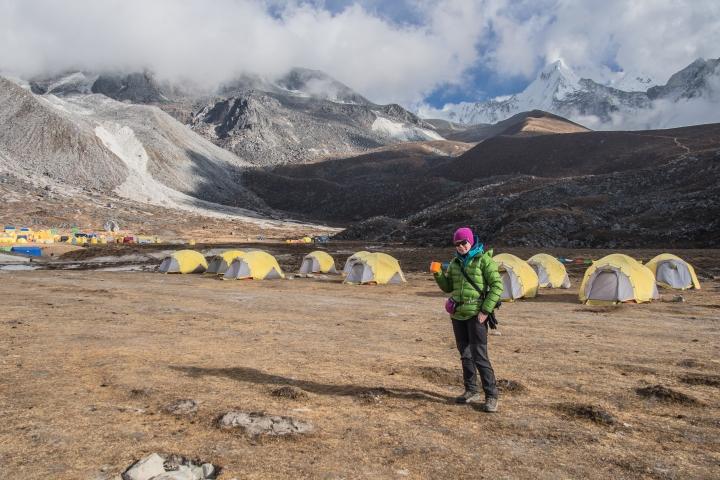 Ama Dablam base camp trekking szlak