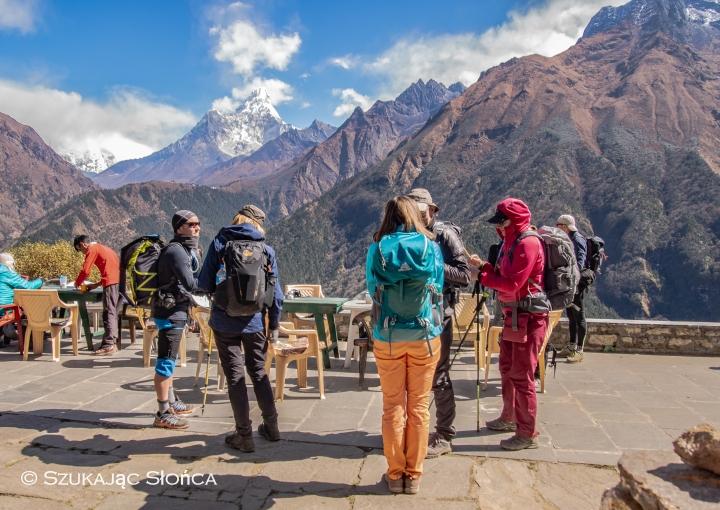 Kyangjuma bakery Himalaje trekking