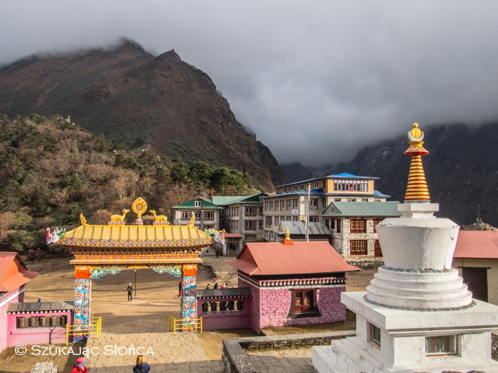 Tengboche klasztor szlak Himalaje trekking