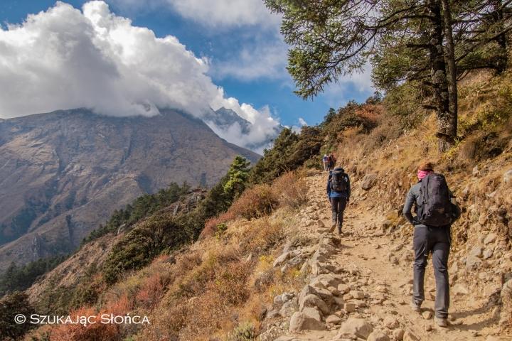 klasztor Tengboche szlak Himalaje trekking Everest Base Camp